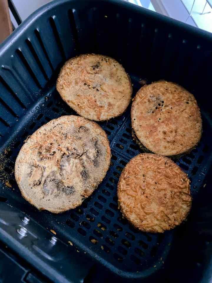 eggplant in air fryer
