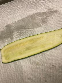 zucchini pat dry for casserole