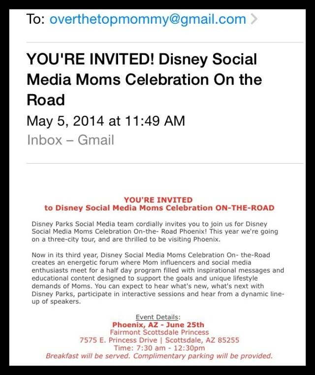 OTR invite