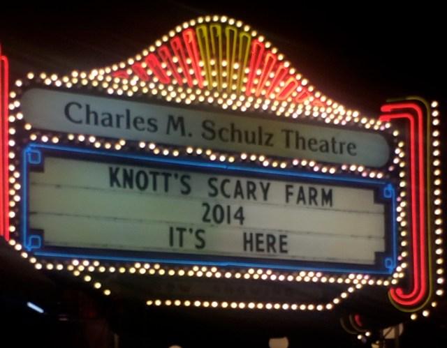 Knott's Scary Farm 2014 is here