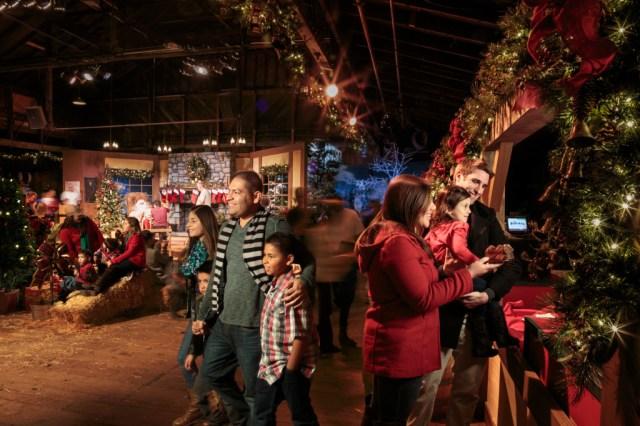 Inside Christmas Cabin