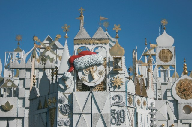 It's a Small World at Christmas time