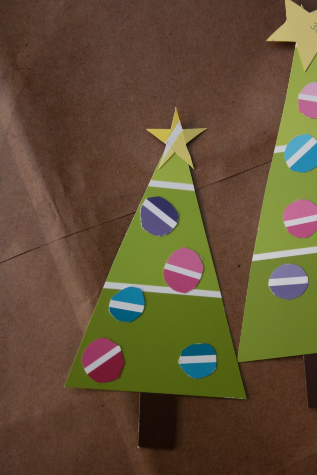 Behr-paint-chip-Christmas-trees