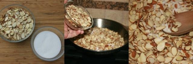 candied almonds preparation #easyaspotpie #ad