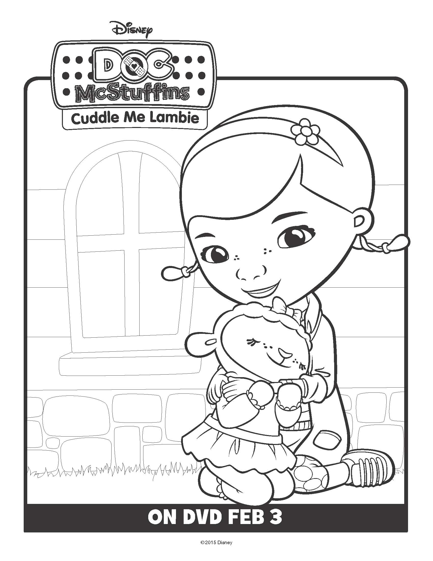 Doc McStuffins: Cuddle Me Lambie! on DVD February 3! Free