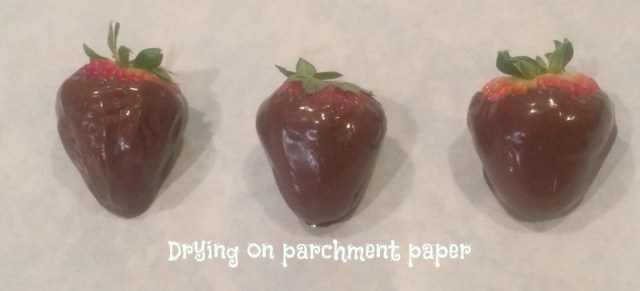 drying-on-parchment-paper