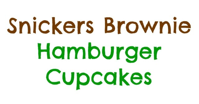 snickers-brownie-hamburger-cupcakes