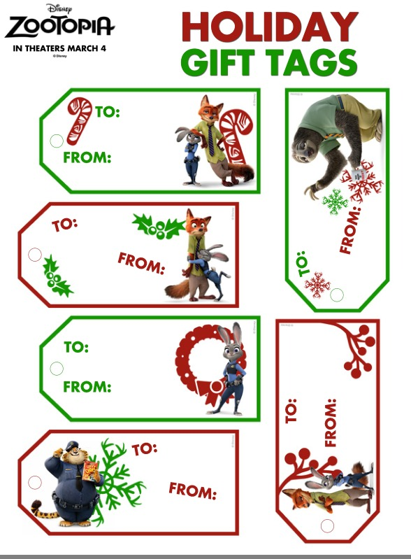 ZOOTOPIA-Holiday-Gift-Tags