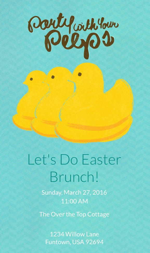 our-sunday-brunch-evite