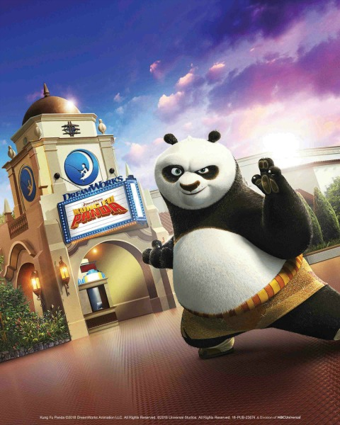 """All-New DreamWorks Theatre Featuring """"Kung Fu Panda: The Emperor's Quest"""" Officially Opens at Universal Studios Hollywood on June 15, 2018"""