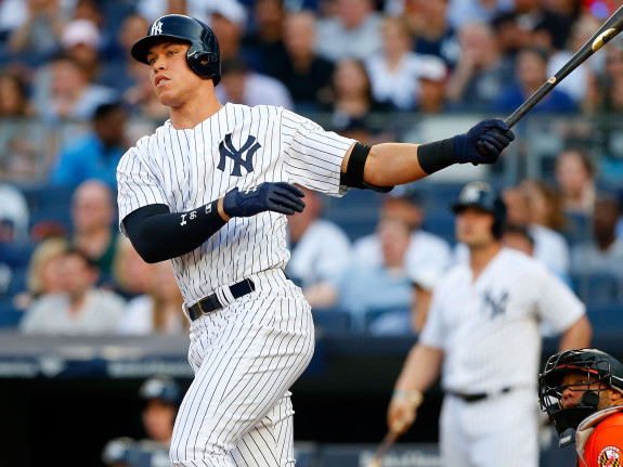 Aaron Judge has shined in the bright lights of NY.
