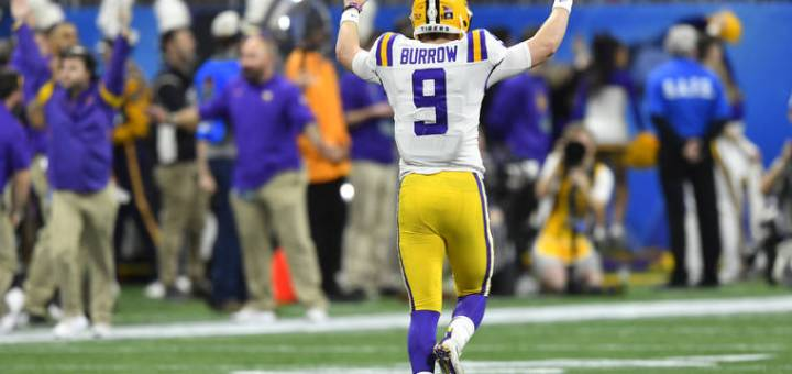 2020 NFL Draft Joe Burrow