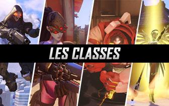 Découvrez les classes dans Overwatch : tank, attaque, défense et support