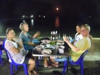dinner in prachuap