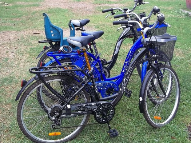 Rent bicycles and scooter during your holidays