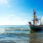 Thai vissersboot