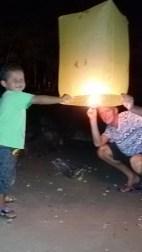 Lampion oplaten