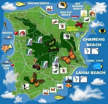 koh-samui-plattegrond