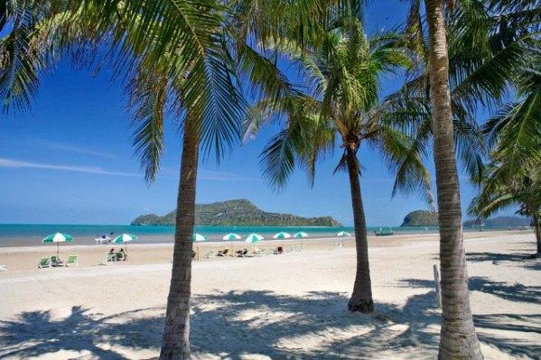 dolphine bay resort sam roi yot strand