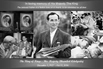 Bhumibol Adulyadej gecondoleerd