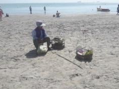 strand verkoper Hua Hin Takiab