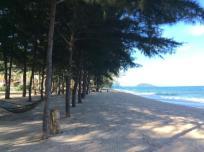 prive strand van receptie Prayook Resort Strand Bungalows