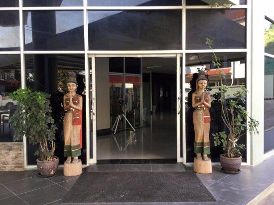 The Chiangrai condotel ingang