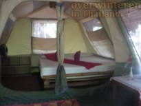 Nature lover Book a ready Tents on Koh Payam Island