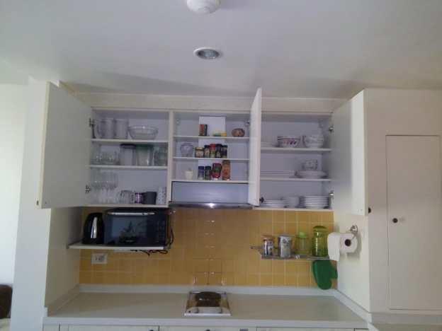 Mykonos appartement complete keuken