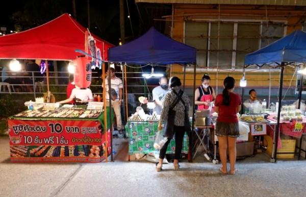 lege markten Thailand