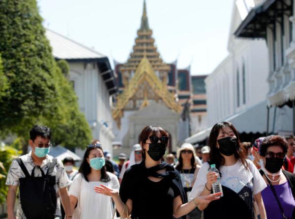 Thailand toerisme met corona