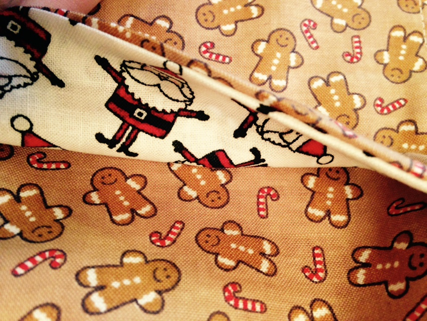Christmas traditions aren't complete without an apron to cook in