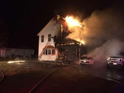 Jan 2018 House Fire