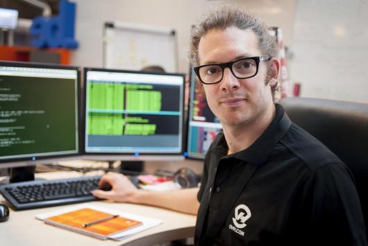 Édouard Venbelle, responsable de l'hébergement Web.