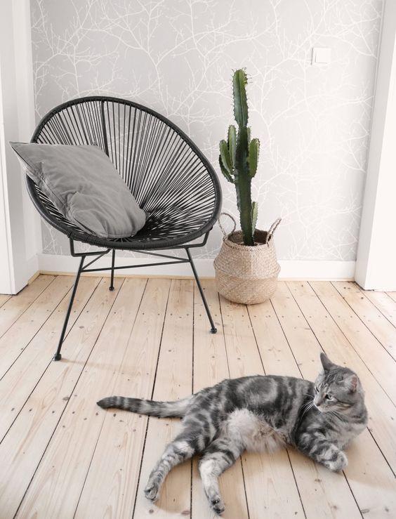 fauteuil de jardin rond il a tout