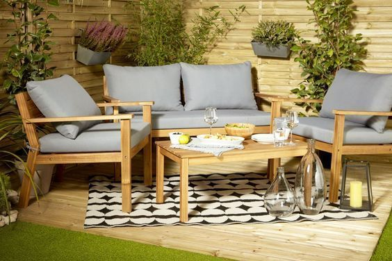 comment choisir son salon de jardin en bois