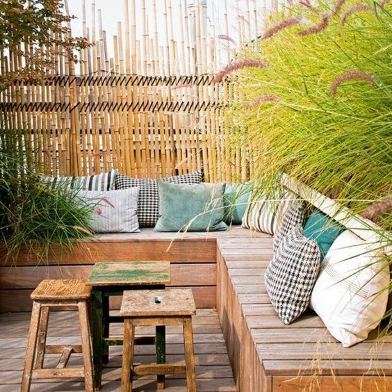 le mobilier de jardin en bois
