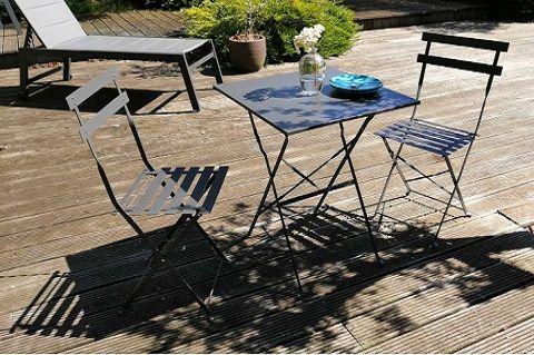 table et chaise de jardin rome