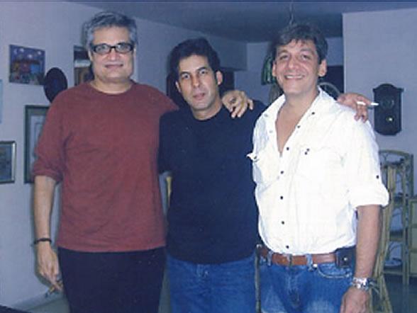 Foto de Amaury Perez, Ovidio Gonzalez y Kiki Corona