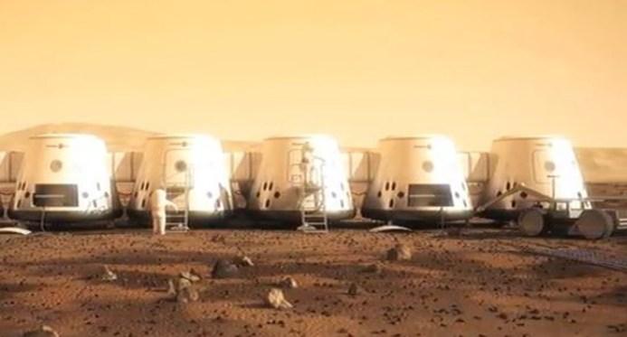 Uma nave espacial com apenas 110 pessoas poderia colonizar Marte