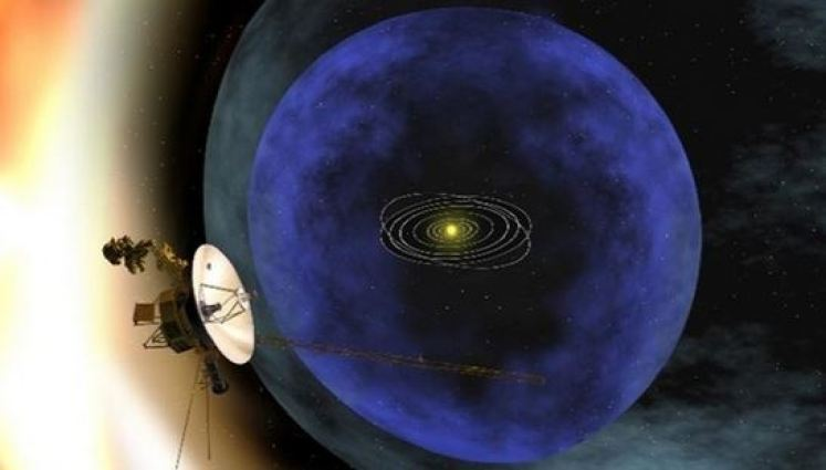 Sonda Voyager 1 da NASA detecta zumbido fora do nosso sistema solar