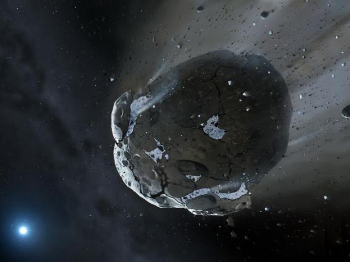 Cientistas descobrem água e matéria orgânica na superfície de asteroide
