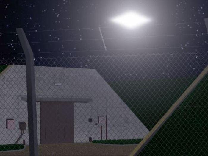 Investigando OVNIs e as instalações nucleares