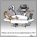 Você sabia que os ETs usam realidade virtual para examinarem humanos? (humor) 21