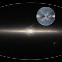 Um gigantesco 'X' marca o centro de nossa galáxia, descobriram os astrônomos 6