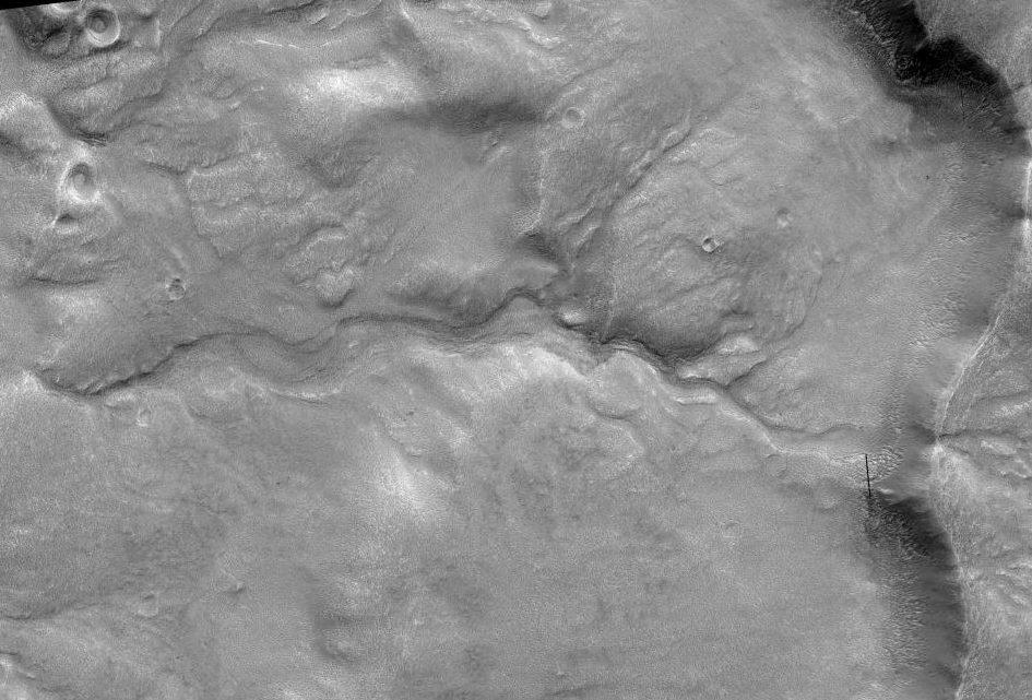 Água está a 2,5 cm de profundidade do solo de Marte