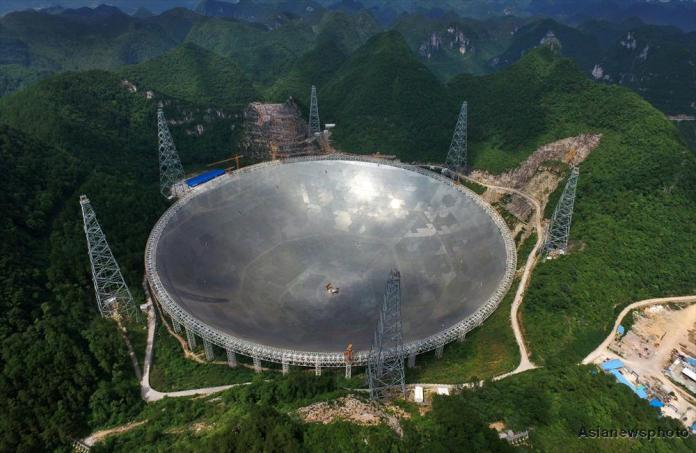 Radiotelescópio gigante define data para caça por vida alienígena inteligente