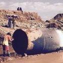 Enorme objeto metálico cai do céu em Myanmar (Birmânia) 24