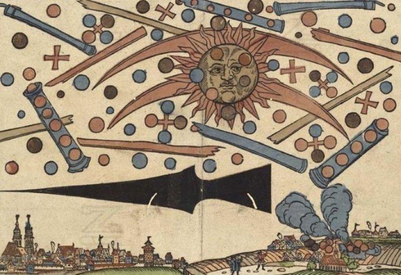 Coisas que você precisa saber sobre o avistamento de OVNIs em Nuremberg, 1561
