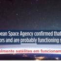 Agência Espacial Europeia admite: Objetos misteriosos que aparecem numa filmagem do espaço não são meteoros, nem lixo espacial 30